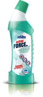 Action Force Dynamic - Toilet Liquid Cleaner - Force