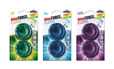 Blue Force - WC tablet for cistern - double