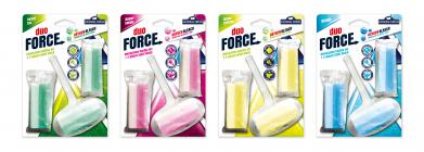 Duo Force - 2-phase toilet block - refill - 3x45g - Force