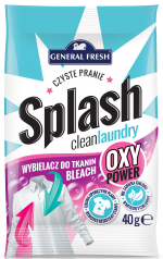 Bleach - clean laundry 40/80g - Splash